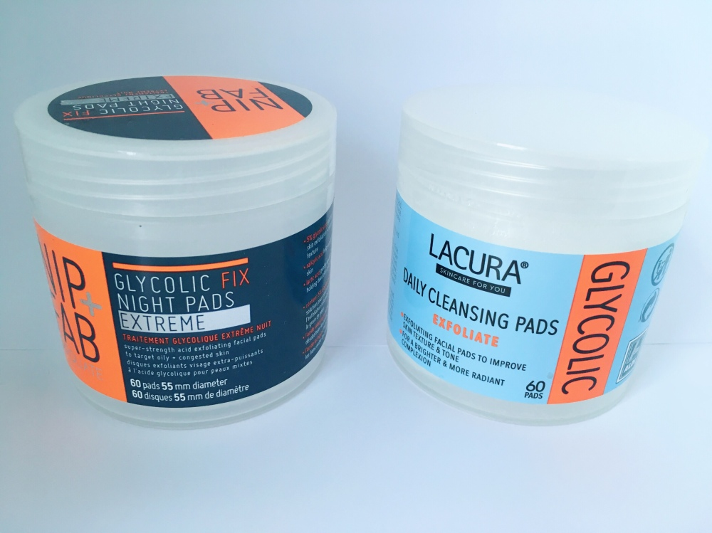 Lacura cleansing pads