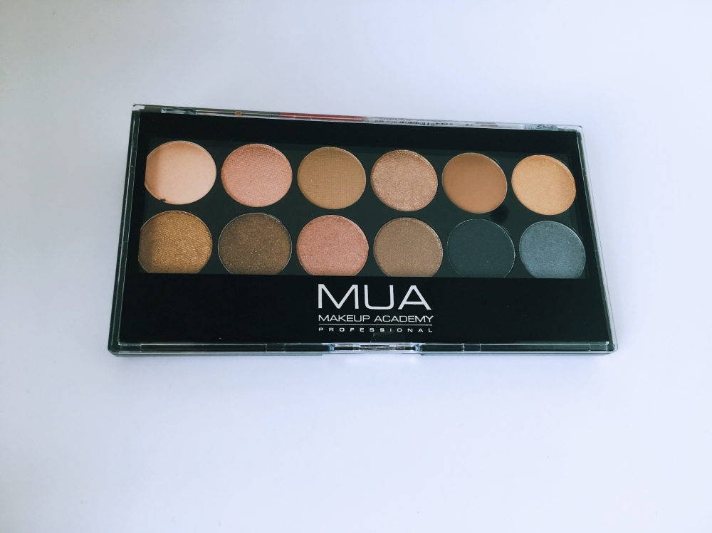 MUA Undressed eye palette