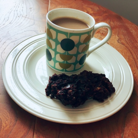 Chocolate banana biscuits